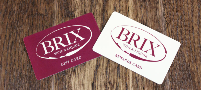 Brix gift cards
