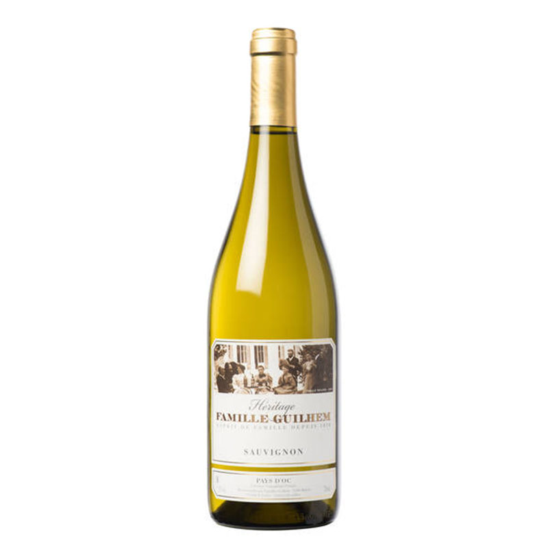 Bottle of Chateau Guilhem Sauvignon Blanc bottle