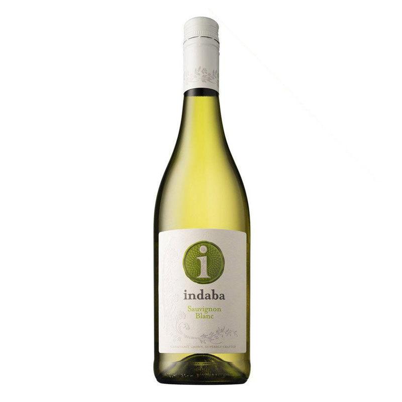 Bottle of Indaba Sauvignon Blanc