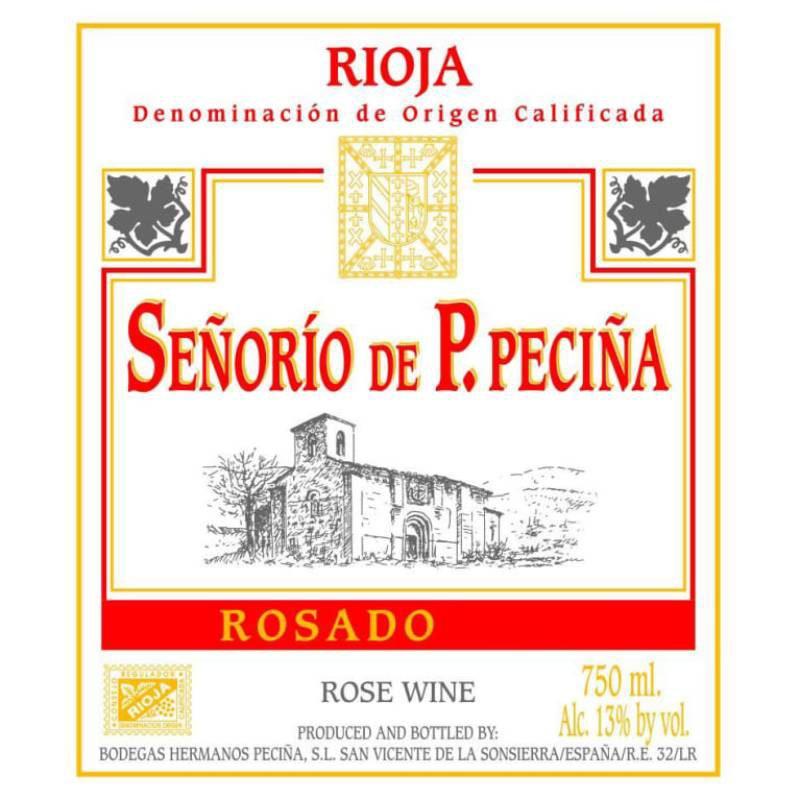 Hermanos de Pecina Rioja Rosato Label