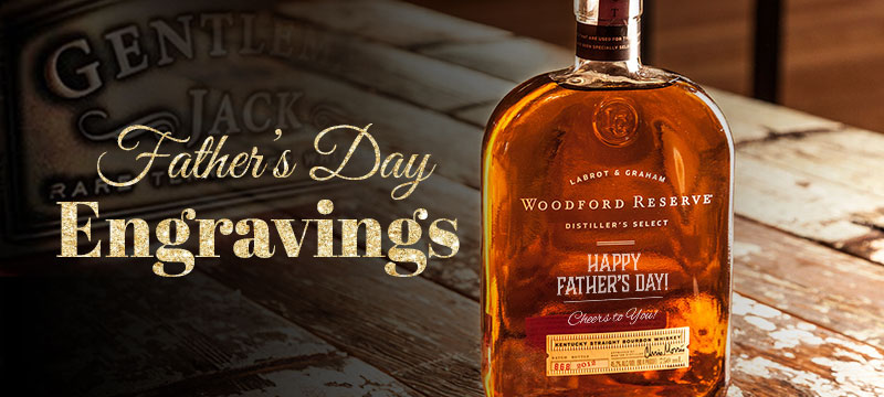 Bottle of Woodford Reserve Engraved