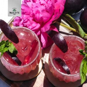 Nolet's plum gin drinks