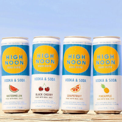 Cans of High Noon Sun Sips