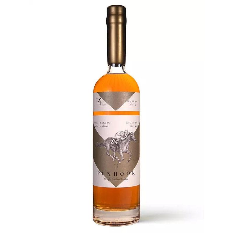 Bottle of Pinhook Bourbon Vertical Bourbon War