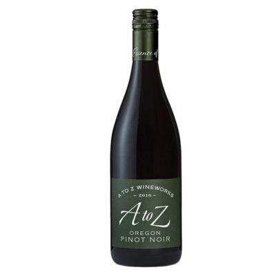 Bottle of A to Z Pinot Noir