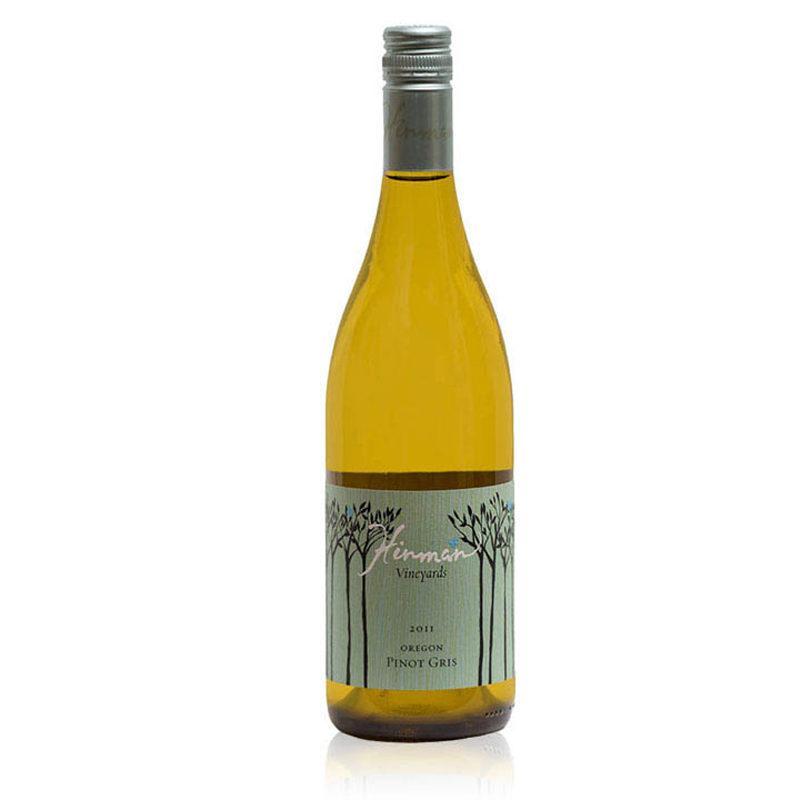 Bottle of Hinman Pinot Gris