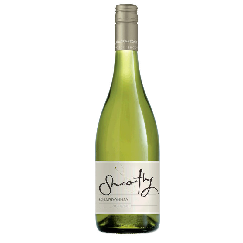 Bottle of Shoofly Chardonnay