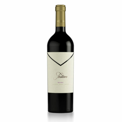Bottle of Festivo Malbec