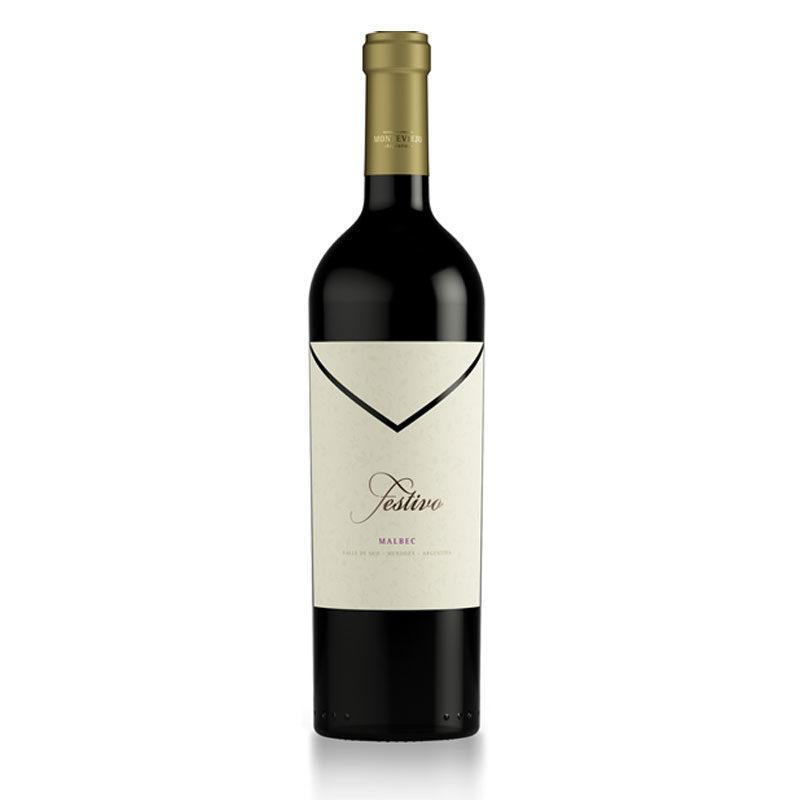 Bottle of Festivo Malbec