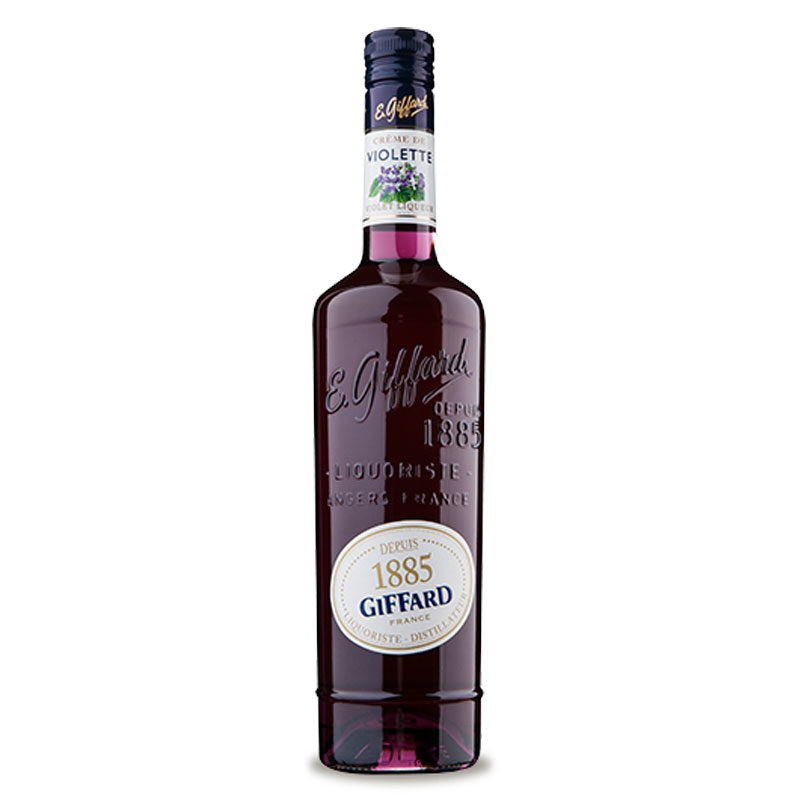 Bottle of Giffard Creme de Violette