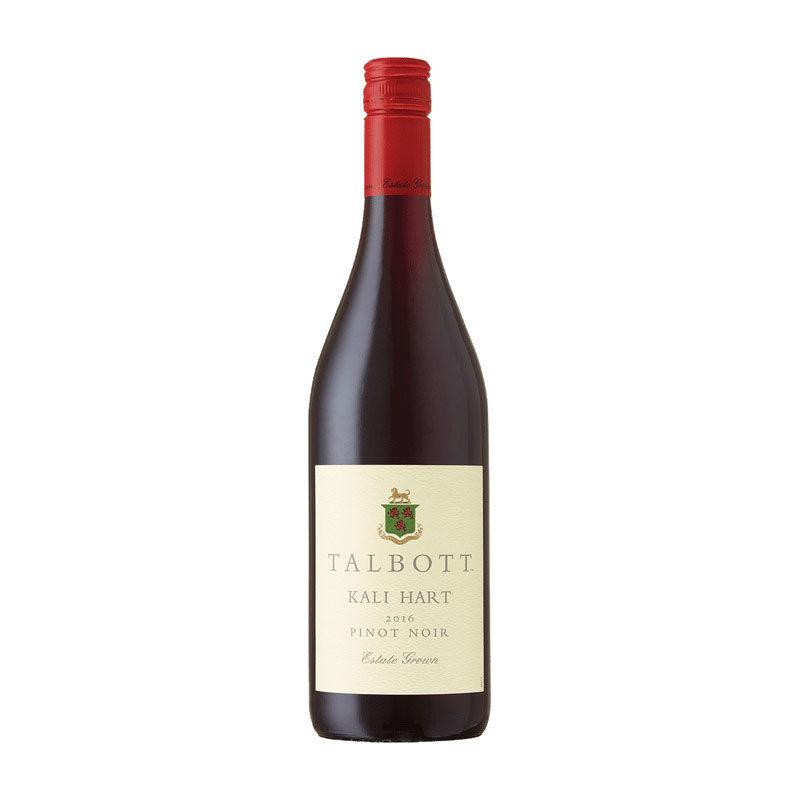 Bottle of Talbott Kali Hart Pinot Noir