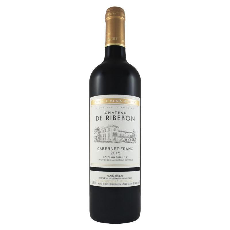Bottle of Chateau de Ribebon Cabernet Franc
