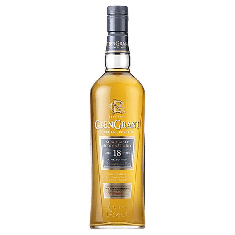 Bottle of Glen Grant Single Malt 18YR