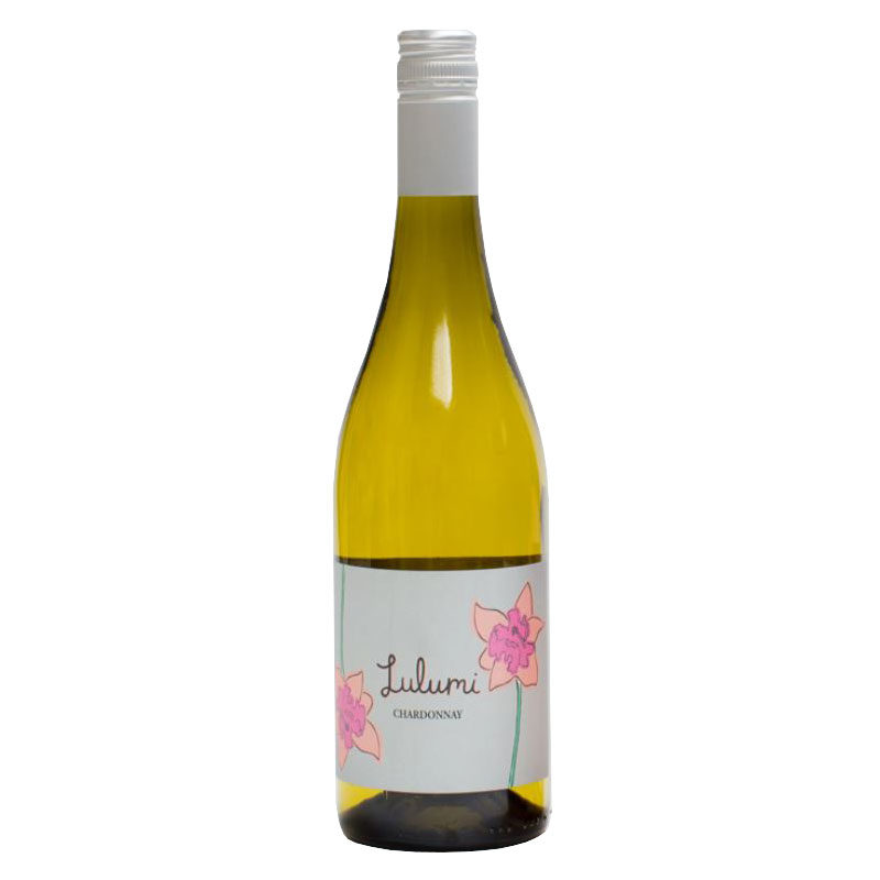 Bottle of Lulumi Chardonnay