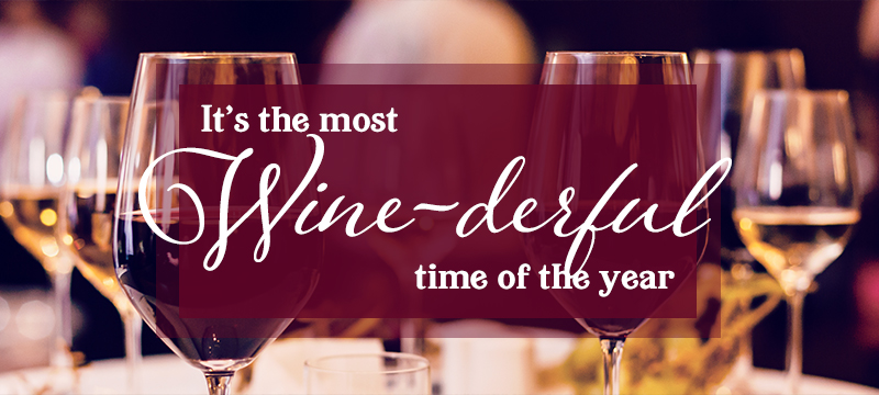 The most wine-derful time of the year