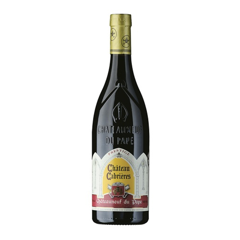 "Bottle of Chateau Cabrieres Chateauneuf du Pape ""Prestige"""