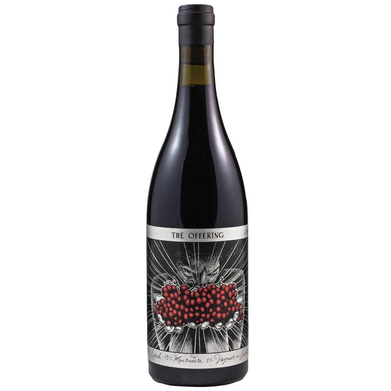 Bottle of Sans Liege The Offering Red Blend