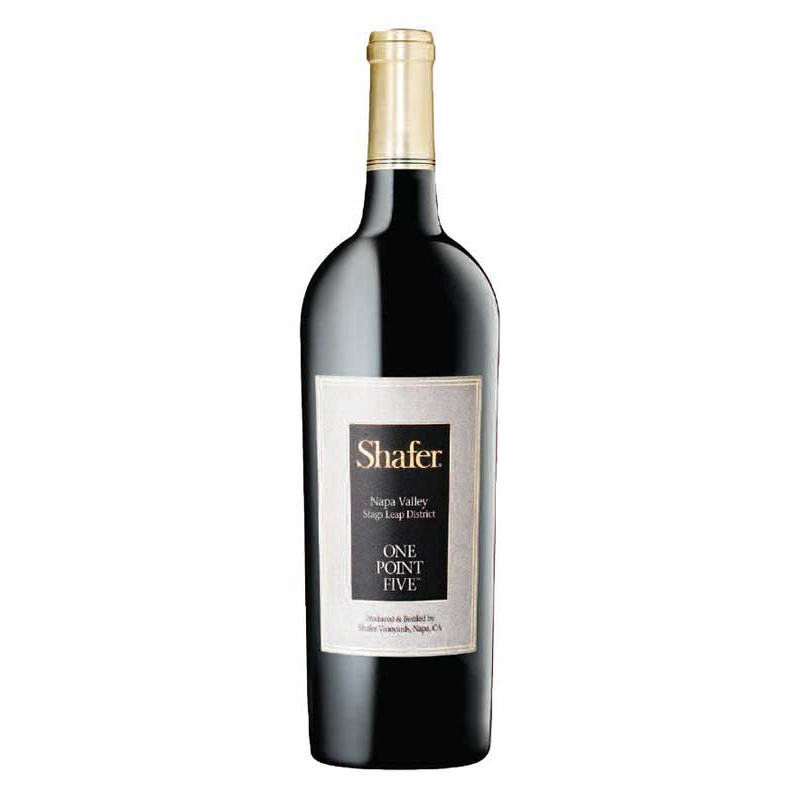 Bottle of Shafer ONE POINT FIVE Cabernet Sauvignon