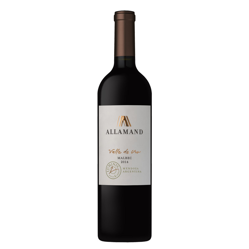 Bottle of Allamand Valle de Uco Malbec