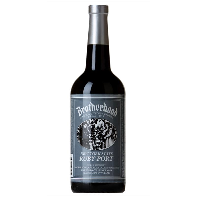 Bottle of Brotherhood Ruby Red Port