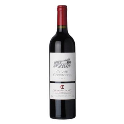 Bottle of Domaine Thunevin-Calvet, Côtes du Roussillon Cuvée Constance