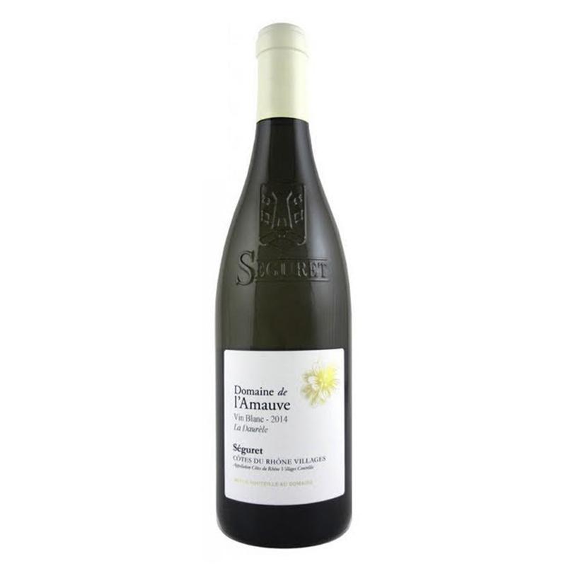 Bottle of Domaine de l'Amauve Côtes du Rhône Villages Séguret Estelles