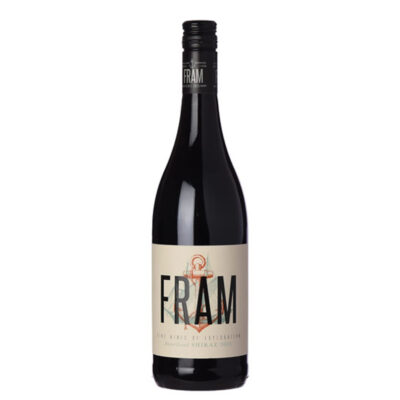Bottle of Fram Shiraz