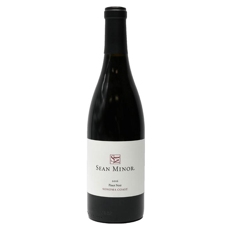 Bottle of Sean Minor Pinot Noir