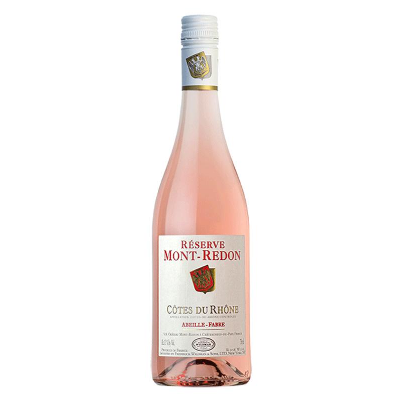 Bottle of Mont-Redon Reserve Cotes du Rhone Rosé