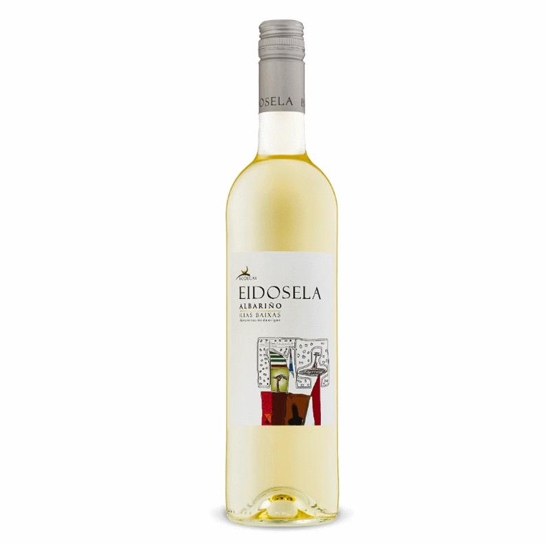 Bottle of Eidosela Albarino